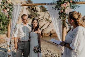 Heiraten am Strand auf Sardinien ob freie Trauung oder die standesamtliche, rechtlich verbindliche Trauung an einem Traumstrand auf Sardinien. Alles ist möglich.