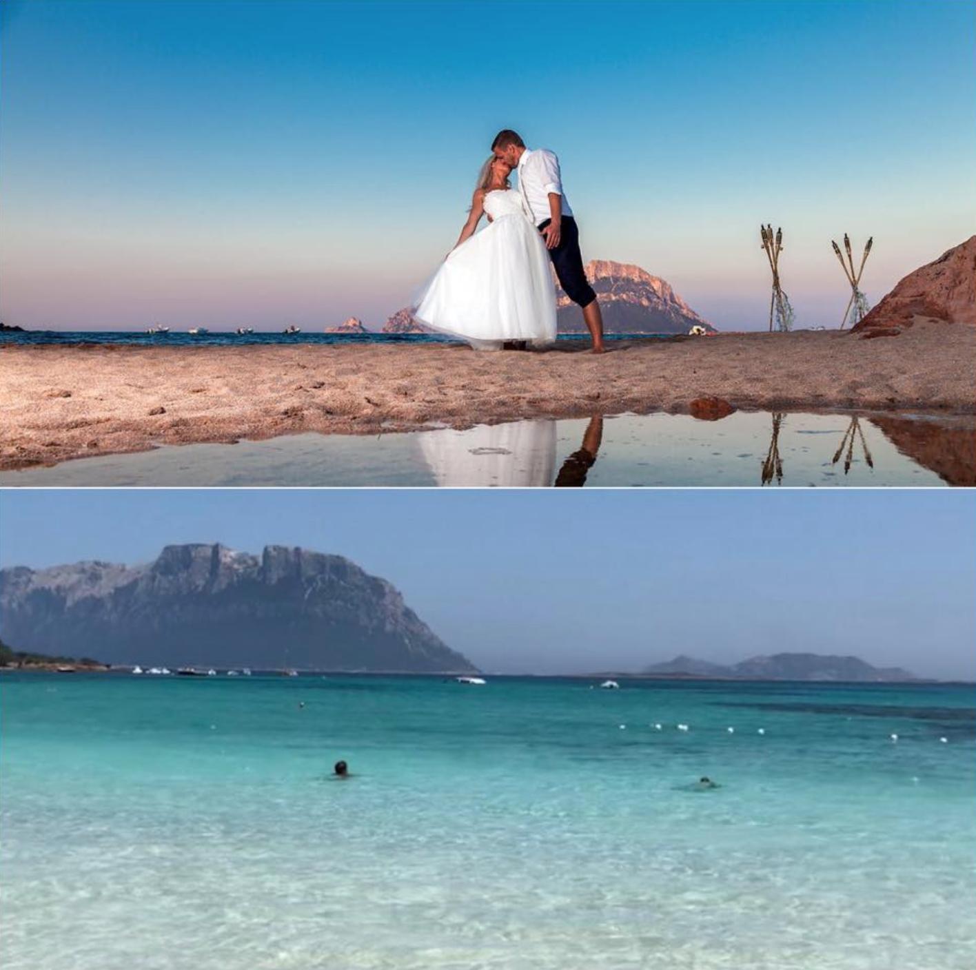 Traumhochzeit am Strand Sardinien Italien