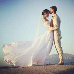Hochzeit am Strand Sardinien