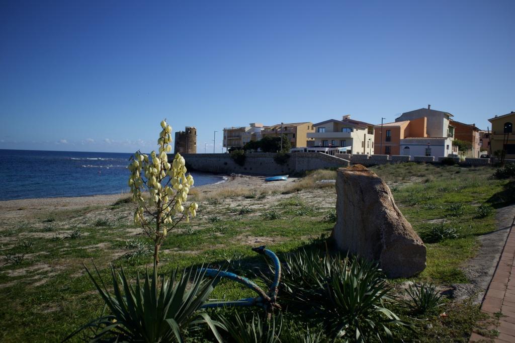 Santa Lucia, ein kleines Fischerdorf an der Ostküste Sardiniens - hier trauen wir am Sarazenen-Turm