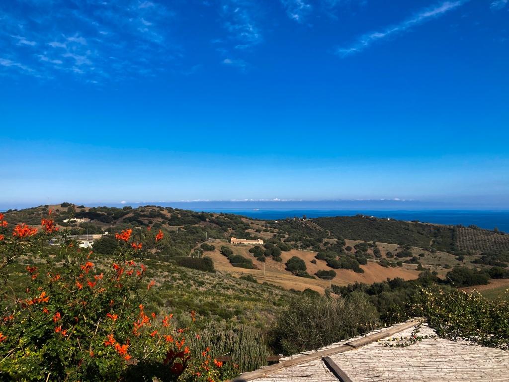 Blickrichtung Osten auf das Mittelmeer