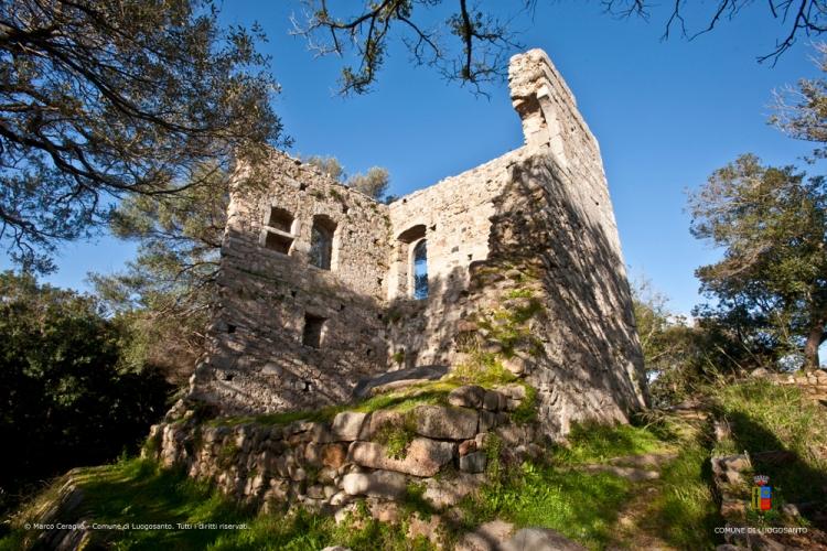 Die Ruinen des Castello di Bald