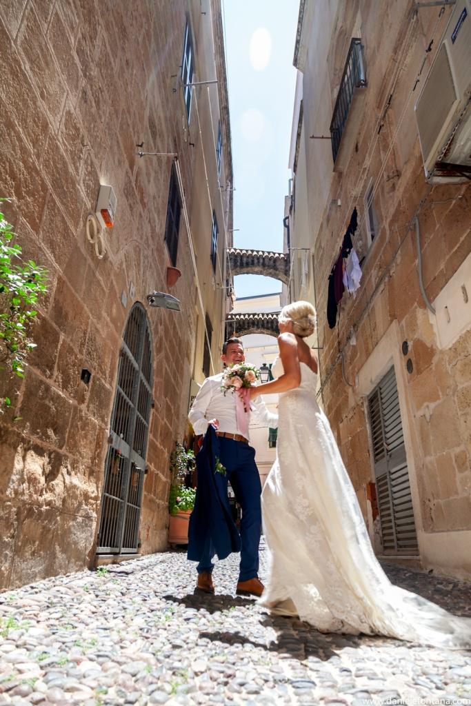 Die ganze Altstadt von Alghero ist eine tolle Location für Euer anschließendes Fotoshootings