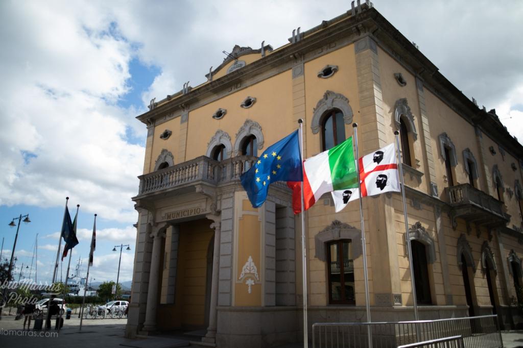 Olbia - das alte Municipio am Eingang des Corso Umberto